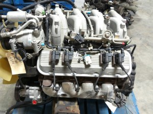 RV Chassis Parts USED CHEVY VORTEC 8100 81L ENGINE FOR