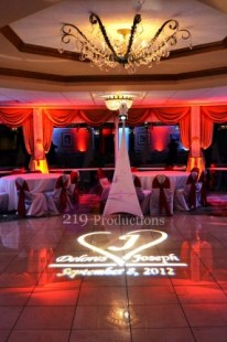 Monogram Uplighting Odyssey Country Club Tinley Park