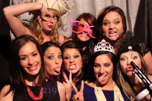 Photobooth Group wedding photo American Legion