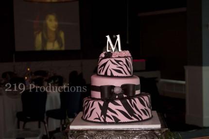 Mia's Quincenera Cake at Lighthouse Restaurant in Cedar Lake