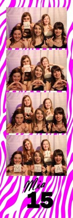 Mia's Quincenera Photo Booth Uplighting