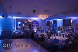 Uplighting at Lido Banquets