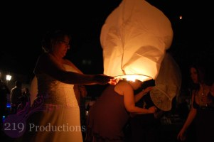 Wedding Lantern Lighting