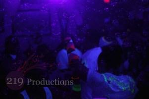 Blacklight Dance Party Disc Jockey