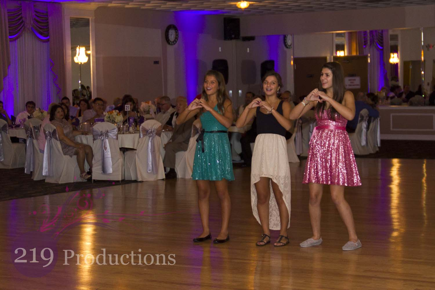 lindsy and alex�s wedding crown point dj