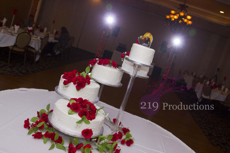 Amy And Bills Wild Party Ambassador Banquets Hobart IN DJ - Wedding Cakes Hobart