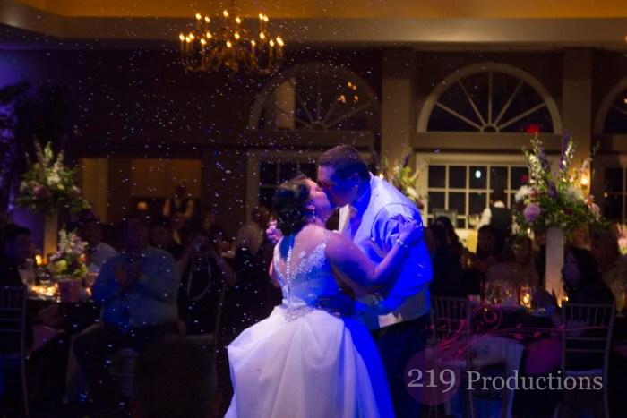 Aberdeen Manor Snow First Dance
