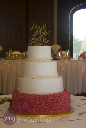 Wicker Park Wedding Cake