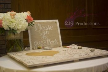 Wicker Park Wedding Guest Book