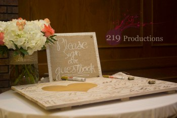 Wicker Park Wedding Guest Book