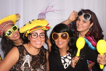 Wicker Park Wedding Photo Booth PIc