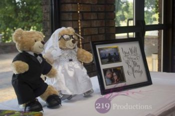 Wicker Park Wedding Teddy Bears