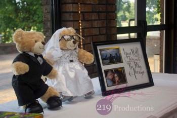 Wicker Park Wedding Teddy Bears