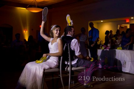 Wedding DJ Signature Banquets Shoe Game Spotlight Highlight