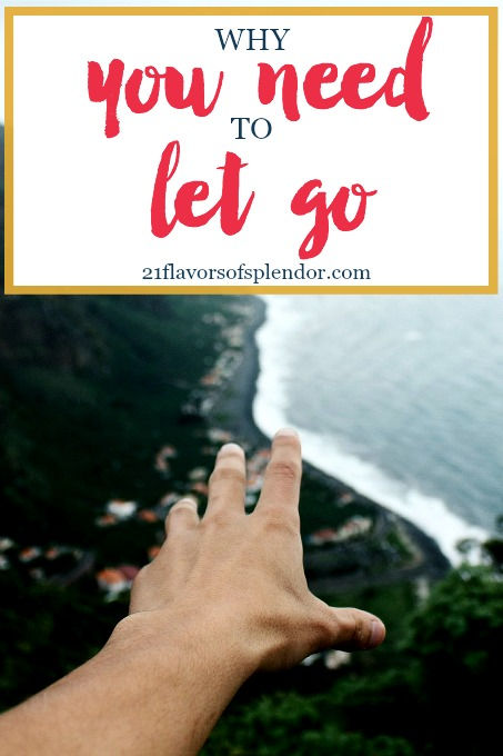 We have to learn to let go of some of the things that may be negatively affecting us. Letting go takes our eyes off the past and casts it on the future. Click...