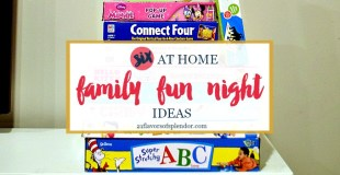 Six At Home Family Fun Night Ideas