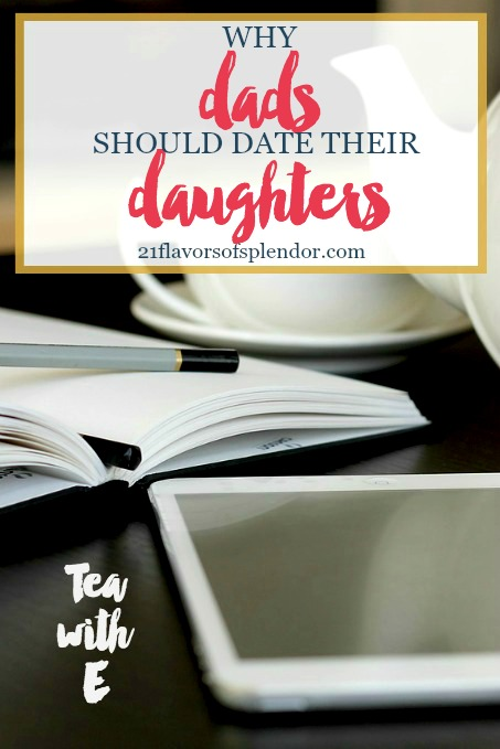 Fathers have a tremendous influence on our daughter's. A great way to inform, equip and empower our daughters is to date their daughters. Click...