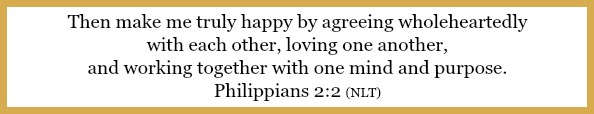 Philippians 2:2 on 5 things every couple should talk about before getting married at 21flavorsofsplendor.com
