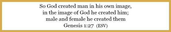 Genesis 1:27 on Keeping God First: It's all about relationship at 21flavorsofsplendor.com
