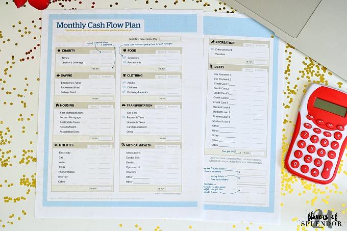 budgeting sheet