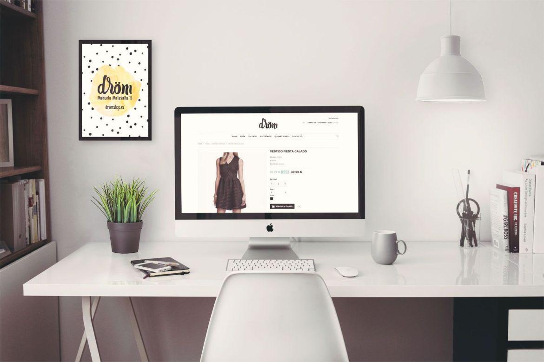 Tienda online Dröm, ecommerce tienda de moda, pyme