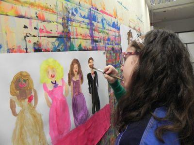 Taller De Pintura Creativa Acompañada En Ingles O Aleman11