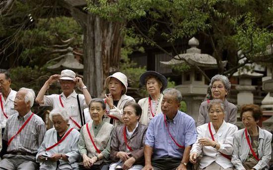 日本人口数量连续4年呈减少趋势 老龄化形势严峻