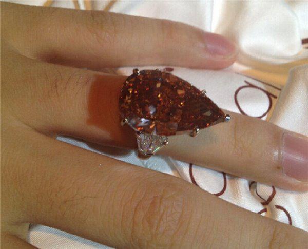 这可能是我见过最大的钻石