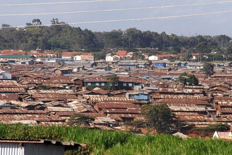 However much the decay of Easleigh, it is nothing like the tin-roofed shanties of Kibera