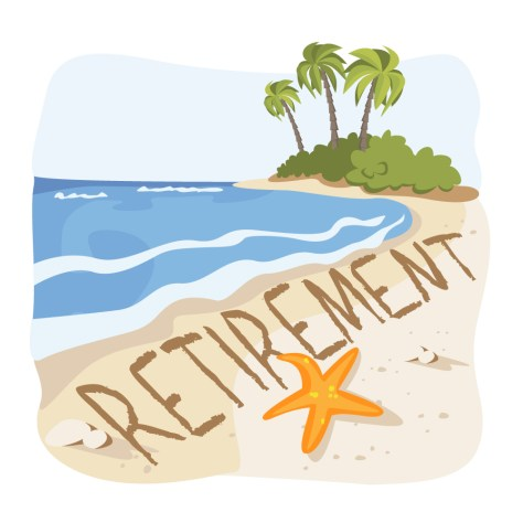 Early retirement will not necessarily mean more time on the beach.