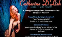 Catherine D'Lish: London 21 - 24th February