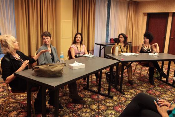 A BurlyCon Panel Discussion. ©Don Spiro