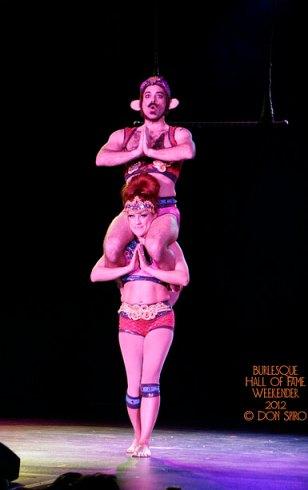 Trixie and Monkey at BHoF 2012.  ©Don Spiro