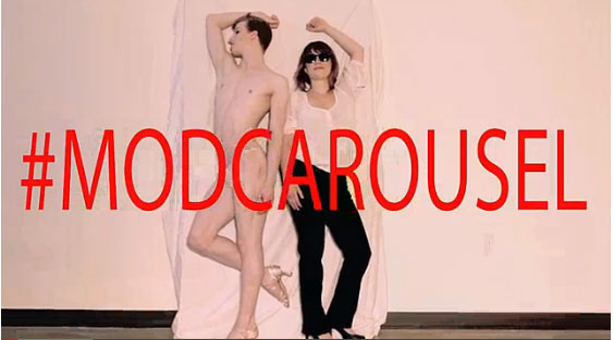 Mod Carousel's response to Robin Thicke's Blurred Lines video.  ©Mod Carousel
