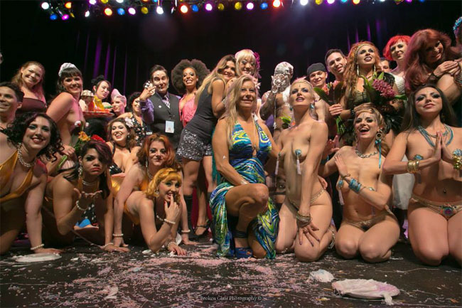 The cast of the Colorado Burlesque Festival 2013.  ©Broken Glass Photography