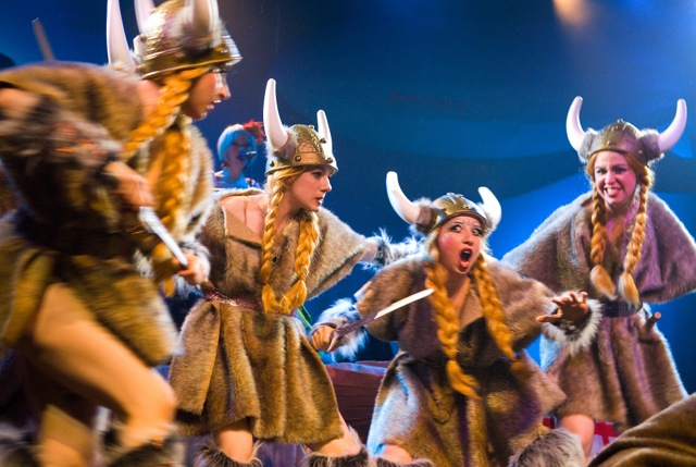 Vikings gone wild in House of Thee Unholy.