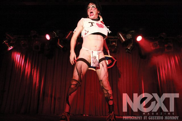 Tigger! at the New York Boylesque Festival 2014.  ©Gustavo Monroy