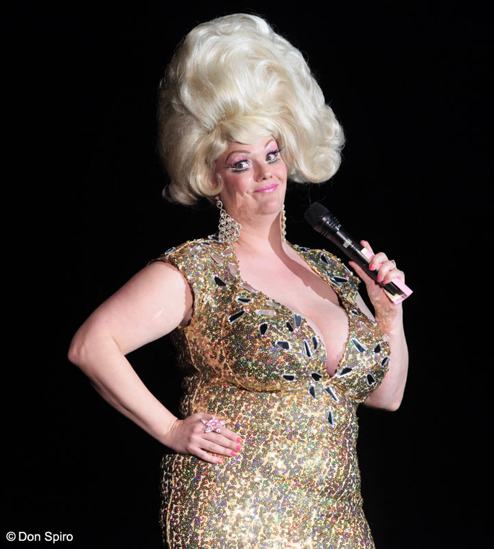 World Famous *BOB* hosts the 57th Annual Titans of Tease Reunion Showcase at the Burlesque Hall of Fame Weekend 2014.  ©Don Spiro