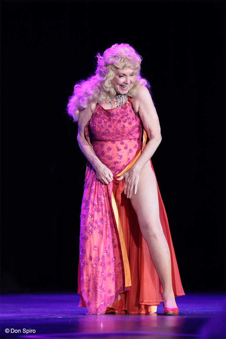 Dee Milo at the 57th Annual Titans of Tease Reunion Showcase at the Burlesque Hall of Fame Weekend 2014. ©Don Spiro
