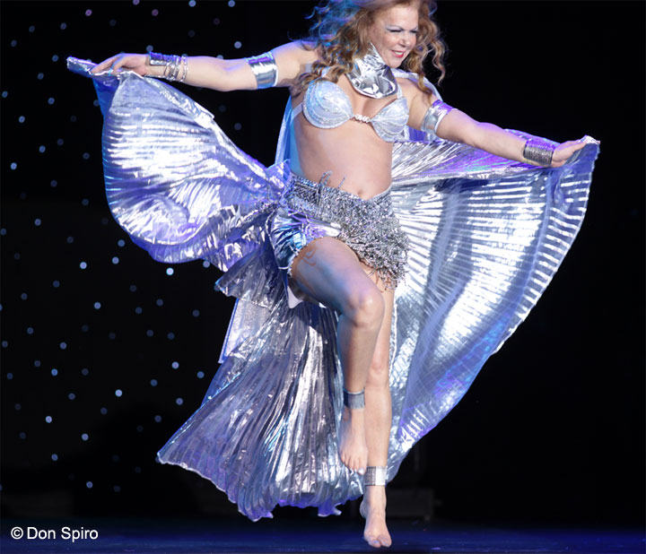 Gabriella Maze at the 57th Annual Titans of Tease Reunion Showcase at the Burlesque Hall of Fame Weekend 2014. ©Don Spiro