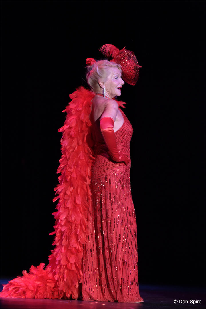Judith Stein at the 57th Annual Titans of Tease Reunion Showcase at the Burlesque Hall of Fame Weekend 2014. ©Don Spiro