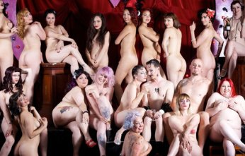 London Burlesque Stars Go Fully Nude for Cancer Charity Calendar (NSFW)