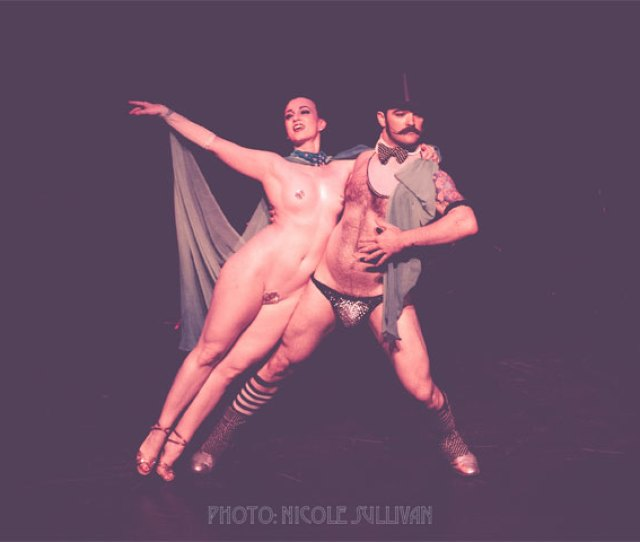 Michelle Lamour And Russell Bruner At The Iowa Burlesque Festival Nicole Sullivan