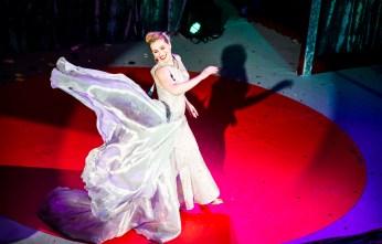 Grace Gotham at the 2nd Annual Caput Mundi International Burlesque Award in Rome, 2014. ©Alberto Guerri