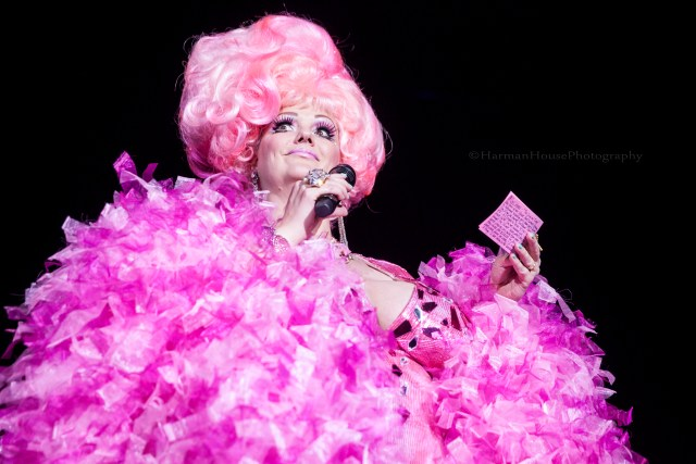 World Famous *BOB* at the Burlesque Hall of Fame Weekend 2015: 58th Annual Titans of Tease Reunion Showcase.  ©Chris Harman/Harman House Photography for 21st Century Burlesque Magazine. Not to be used without permission.