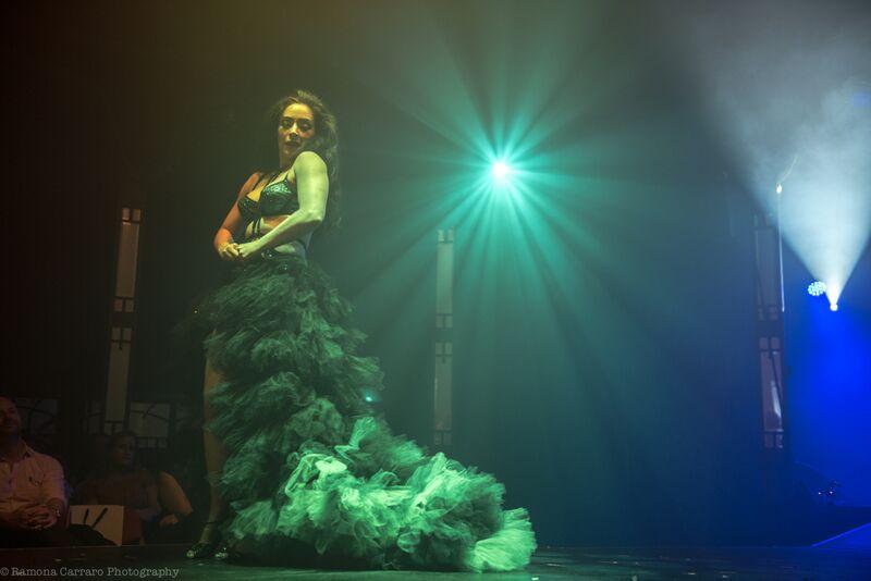 Kitty Bang Bang in Between the Sheets: An Intimate Cabaret at London Wonderground 2015.  ©Ramona Carrara Photography
