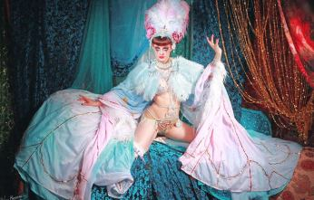 Talulah Blue appearing at the Sheffield Burlesque and Cabaret Extravaganza, by Neil Kendall