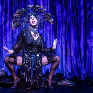 Violet Chachki in The Art of the Teese tour. ©Frank Rodrick