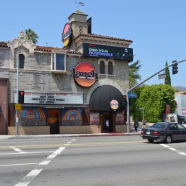 The world famous Laugh Factory at 8001 Sunset Blvd.