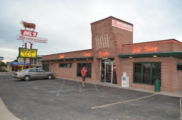 Del's Restaurant. Best place in Tucumcari.